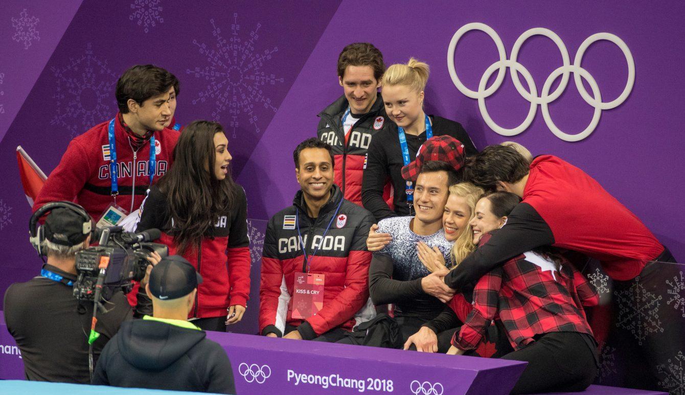 Team Canada Patrick Chan PyeongChang 2018 team event