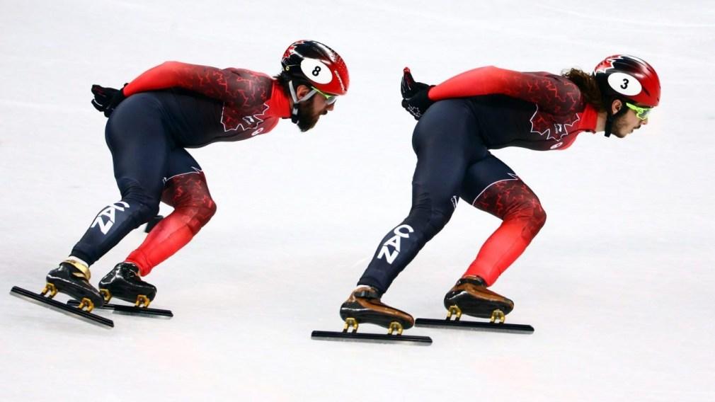 Team Canada PyeongChang 2018 Hamelin Girard 1500m