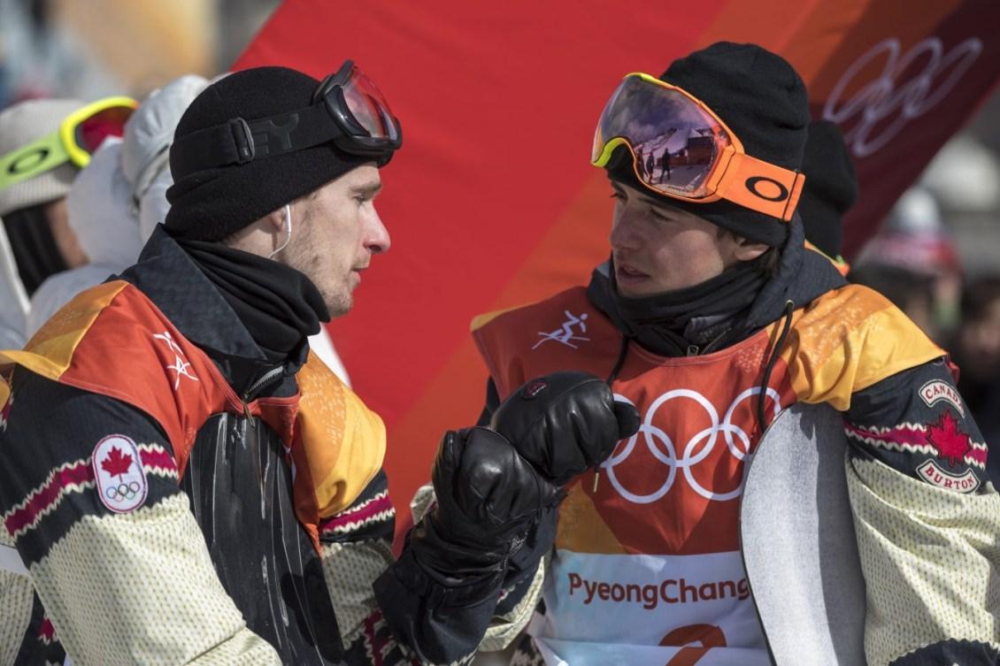 Team Canada PyeongChang 2018 Max Parrot Mark McMorris slopestyle finals