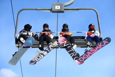 Team Canada PyeongChang 2018 Spencer O'Brien Brooke Voigt slopestyle final