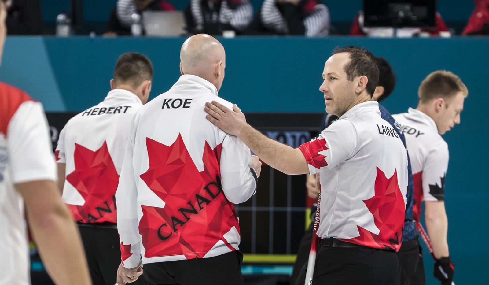 eam Canada Team Koe PyeongChang 2018