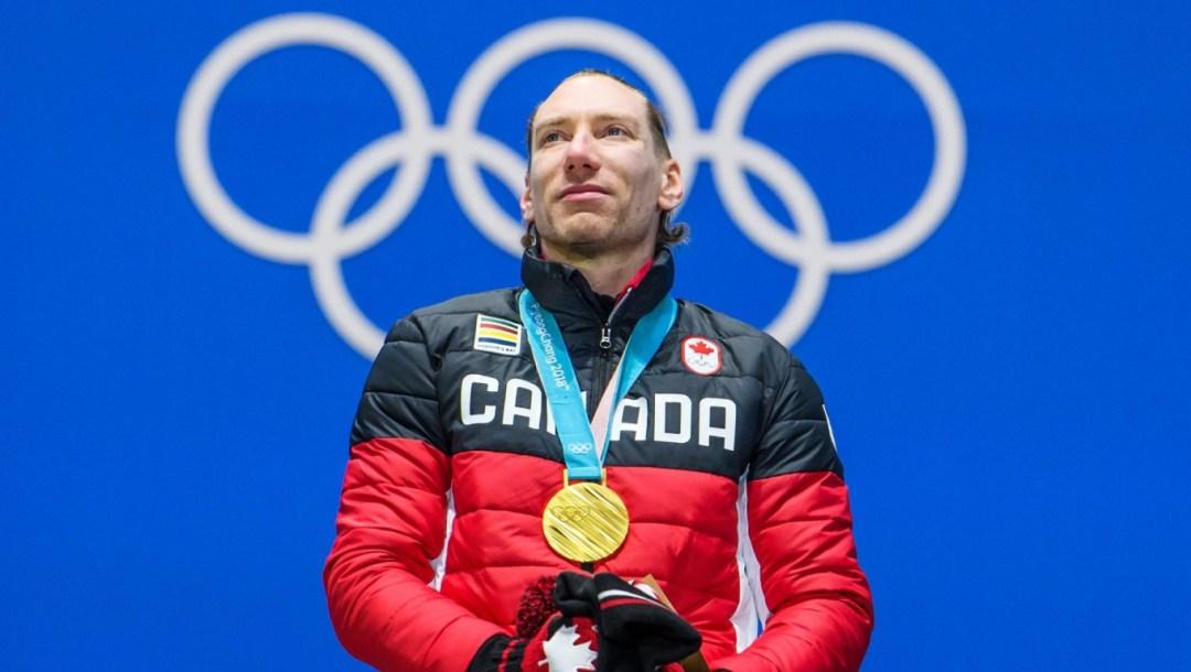 Team Canada Ted-Jan Bloemen medal ceremony