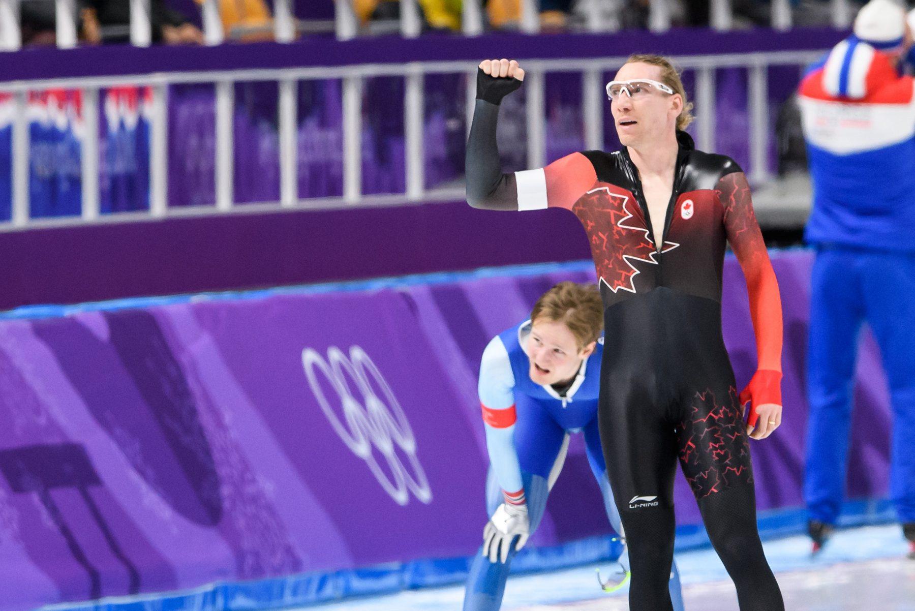 Team Canada Ted-Jan Bloemen PyeongChang 2018 5000m