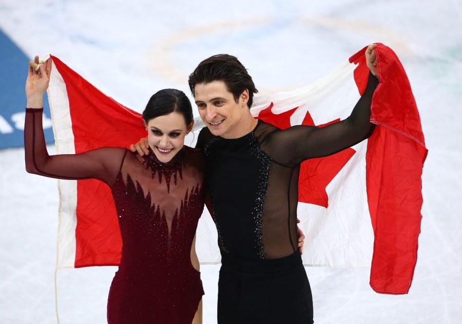 Team Canada PyeongChang 2018 Tessa Virtue Scott Moir ice dance gold