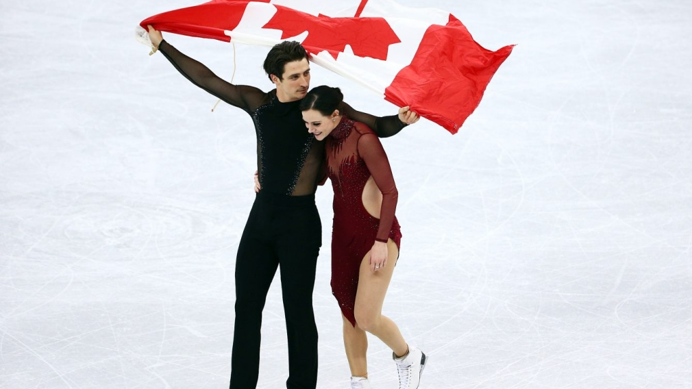 PyeongChang 2018: Tessa Virtue and Scott Moir skate to gold!