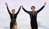 Virtue & Moir lead with world record short dance