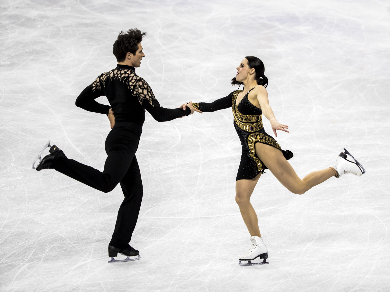 Team Canada Tessa Virtue Scott Moir PyeongChang 2018 team event