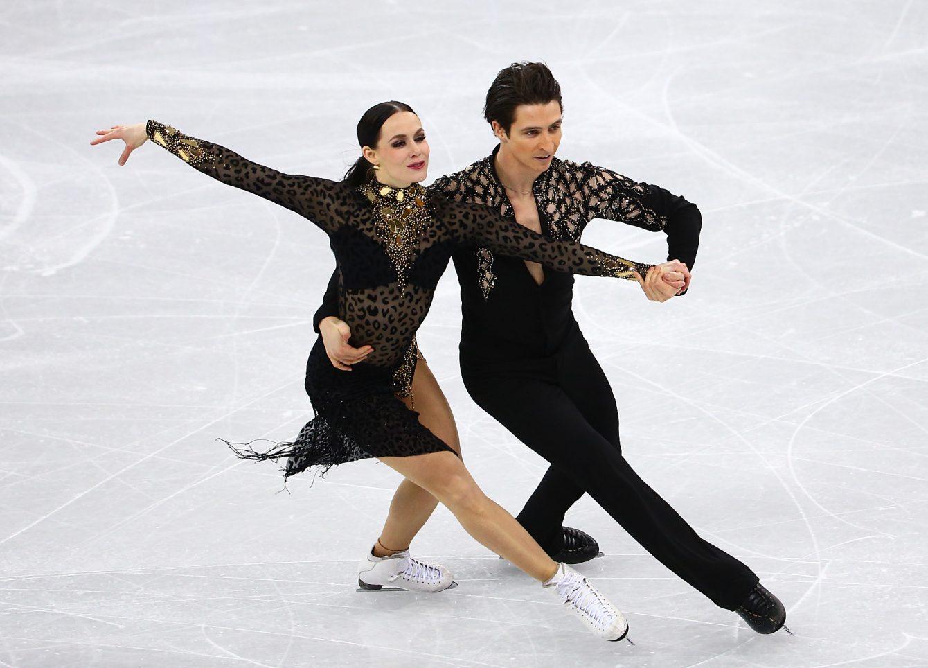 Team Canada Virtue Moir PyeongChang 2018 short dance