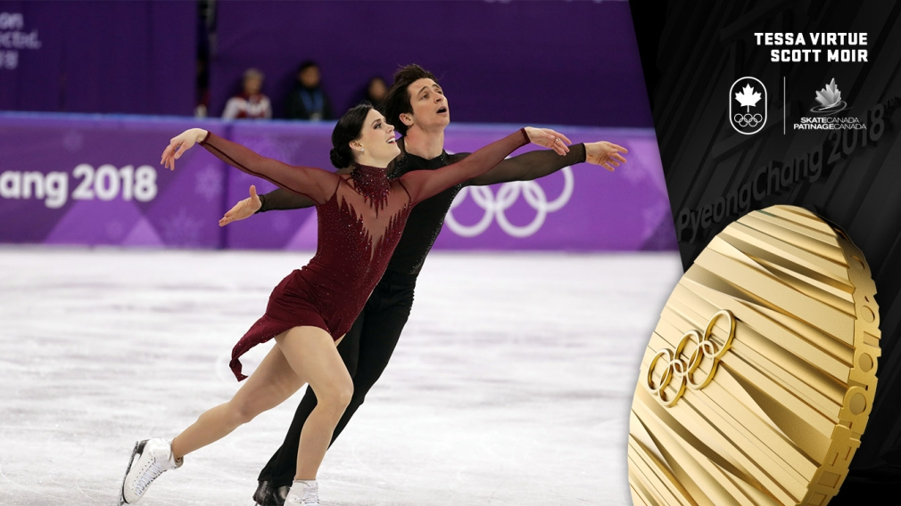 Virtue & Moir dance to gold for fifth Olympic medal