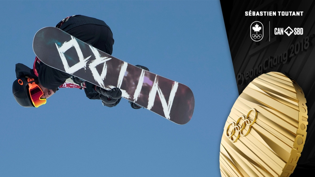 Toutant first ever Olympic champion in men's snowboard big air