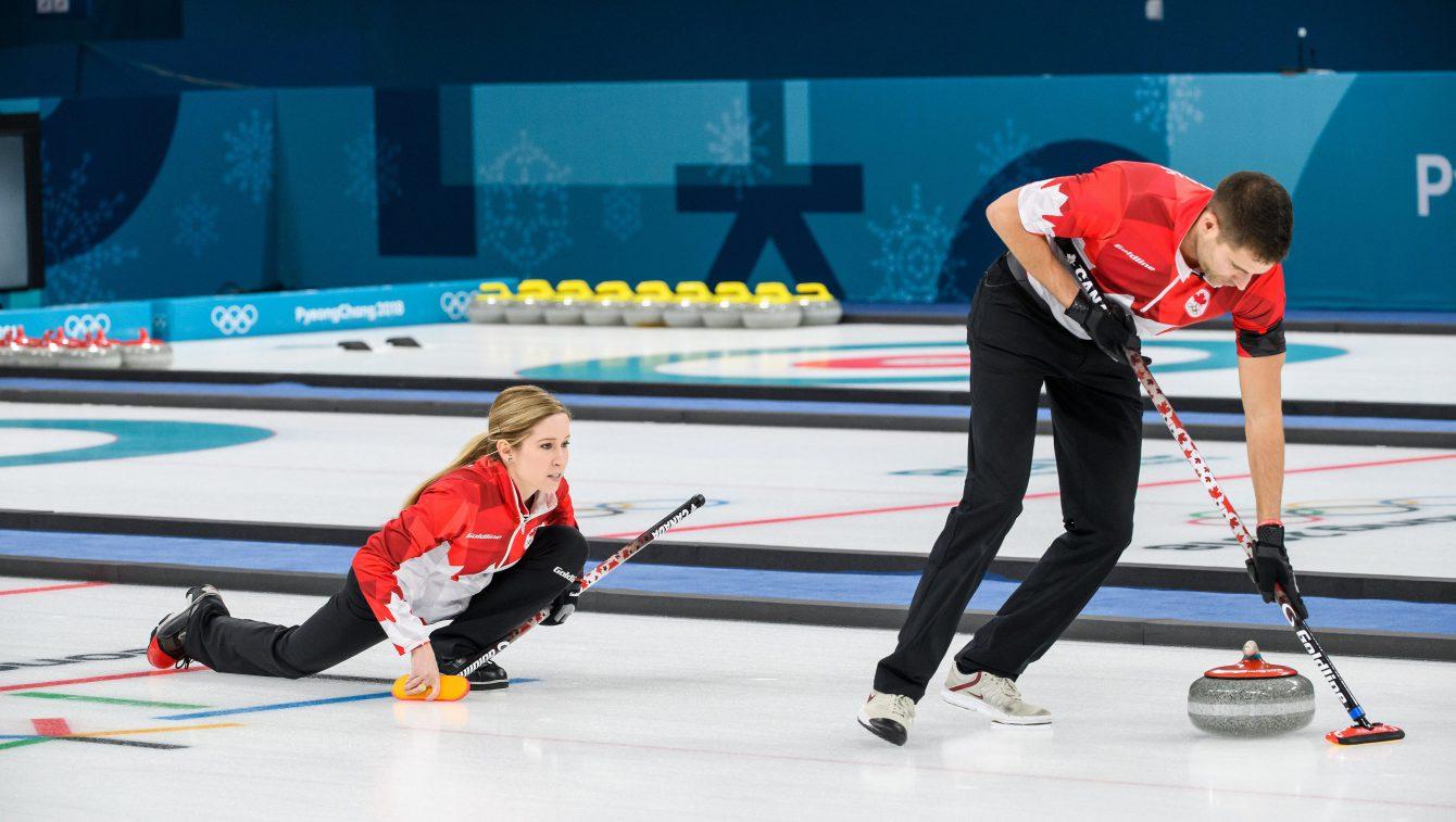 Team Canada PyeongChang 2018 Kaitlyn Lawes John Morris