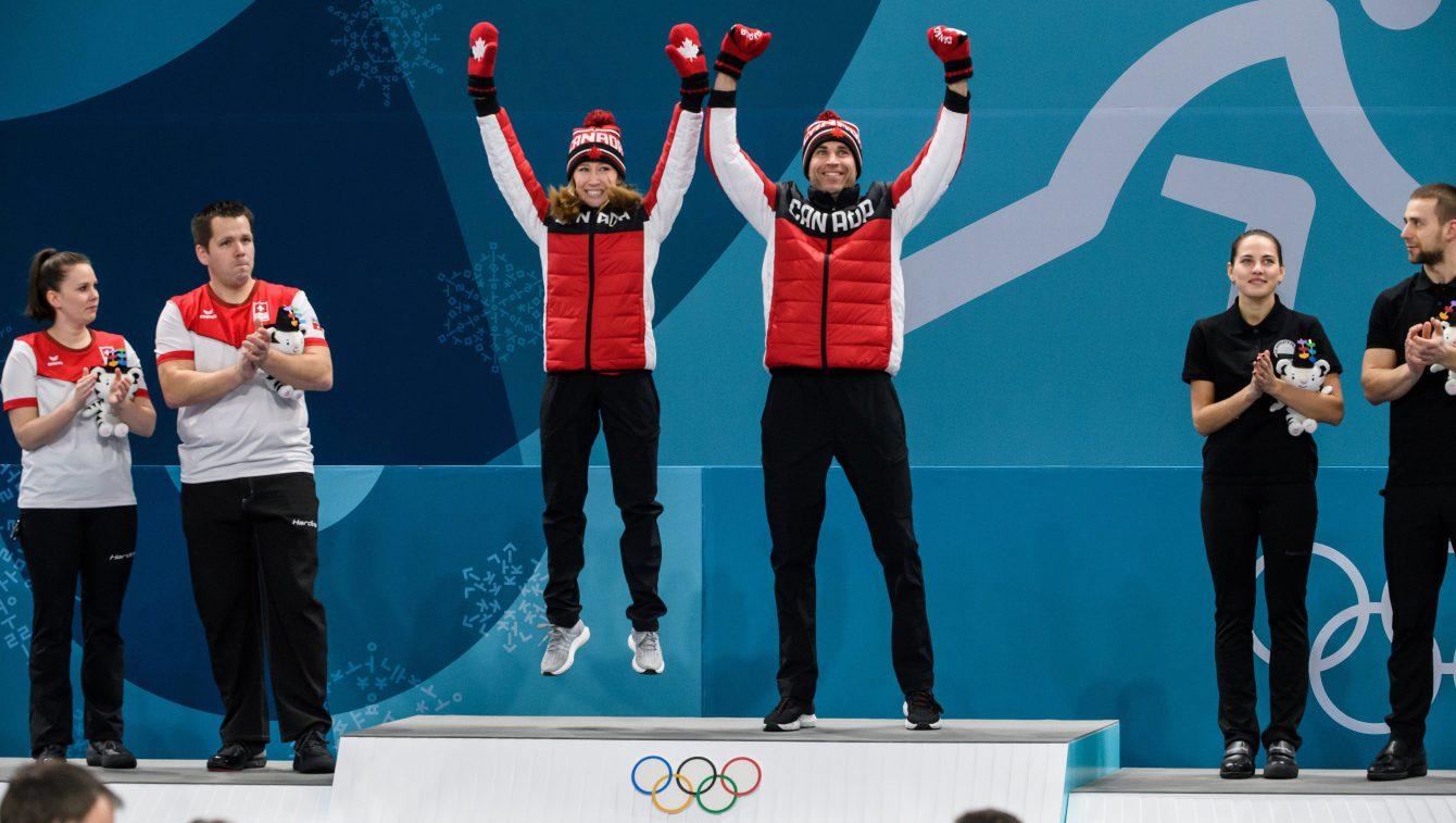Team Canada Kaitlyn Lawes John Morris PyeongChang 2018