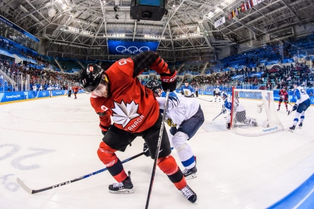 Team Canada Linden Vey men's hockey PyeongChang 2018
