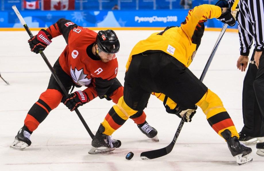 Team Canada Derek Roy PyeongChang 2018