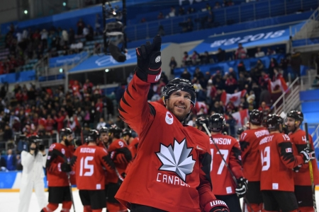 Team Canada Derek Roy men's hockey PyeongChang 2018