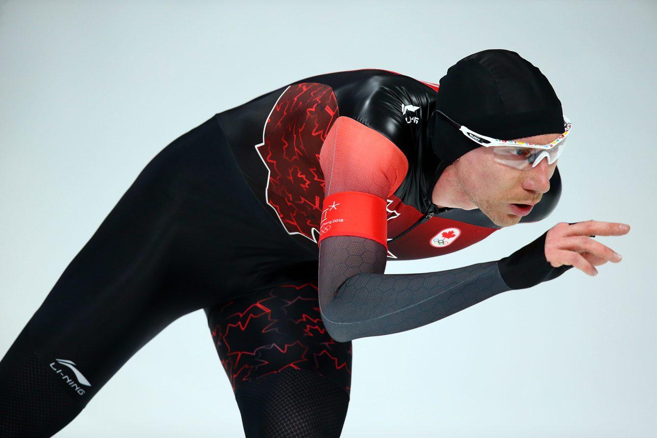 Team Canada Ted Jan Bloemen PyeongChang 2018