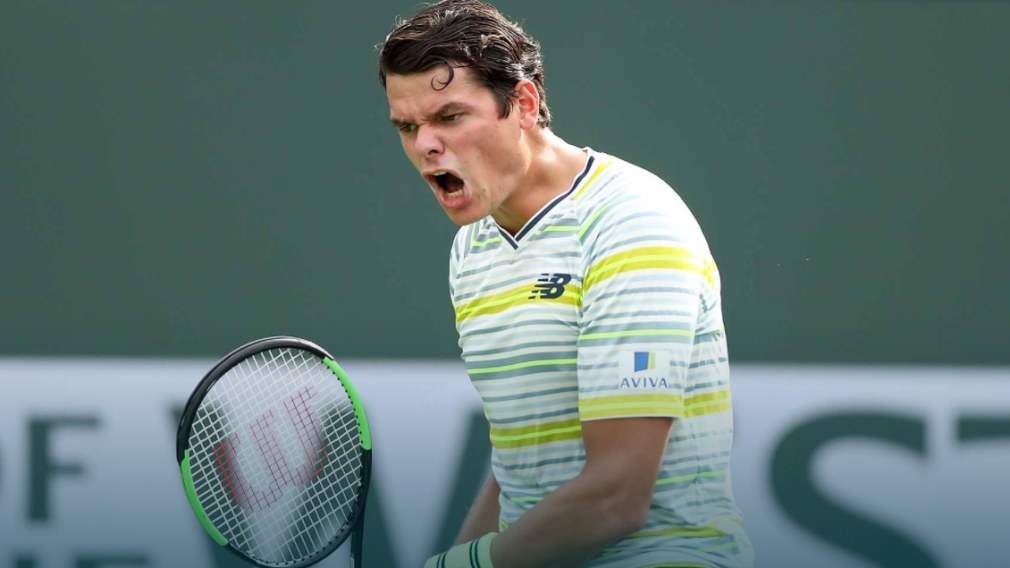Raonic in quarterfinals of Indian Wells after advancing in walkover