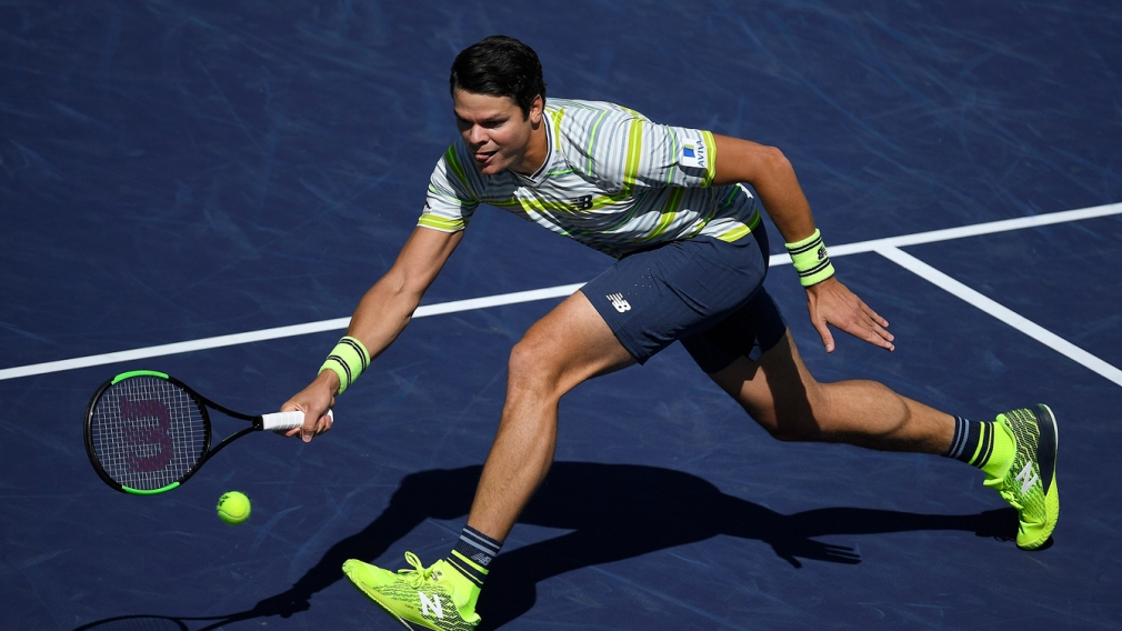 Raonic reaches Indian Wells semis for the third time as del Potro awaits