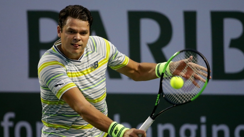 Raonic comeback continues into fourth round of prestigious Indian Wells
