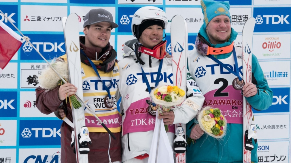 Mikaël Kingsbury wins silver and secures seventh Crystal Globe