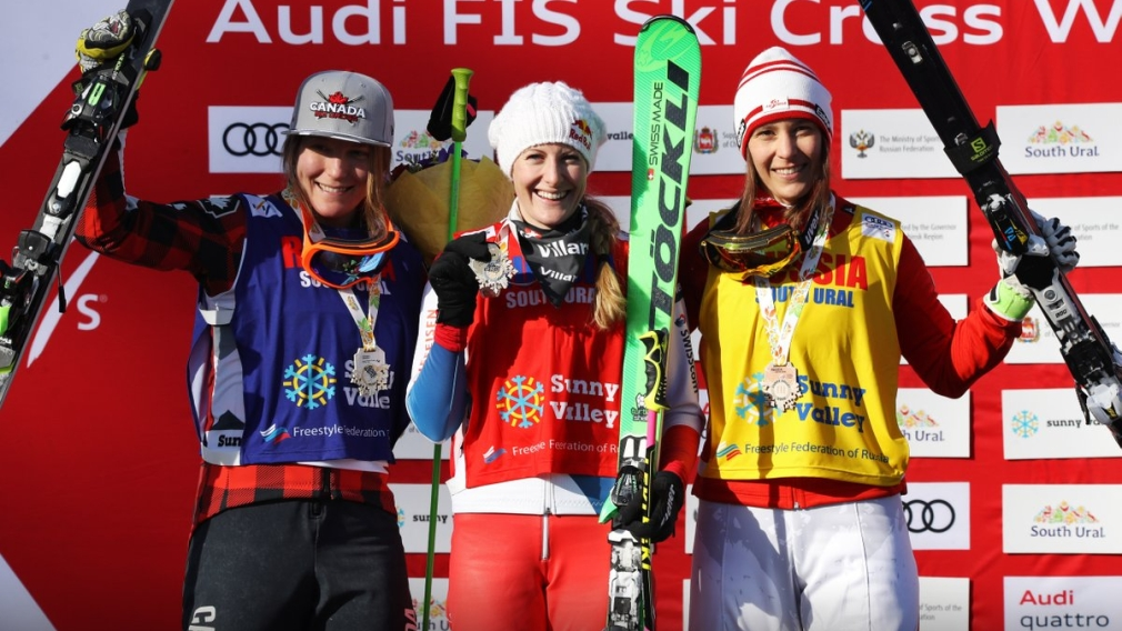 Phelan and Drury take silver at ski cross World Cup in Russia