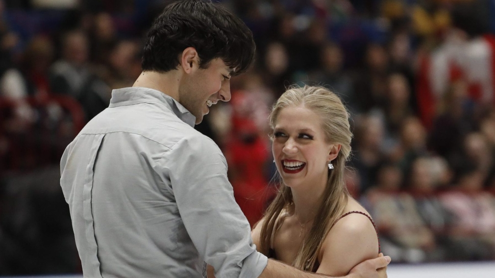 Weaver and Poje win ice dance bronze at figure skating worlds