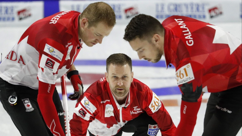Silver for Team Gushue at World Men's Curling Championship