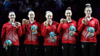Team Canada Artistic-gymnastics-Commonwealth-Games