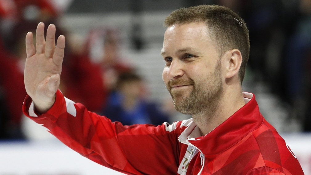 Team Gushue advances to semifinals at men's curling worlds