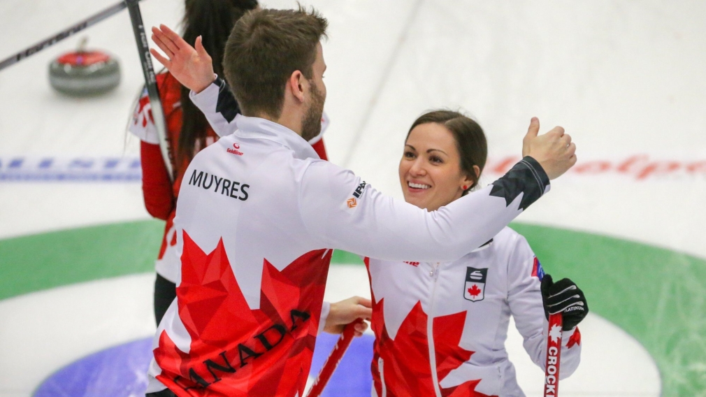 Bronze for Crocker and Muyres at mixed doubles curling worlds