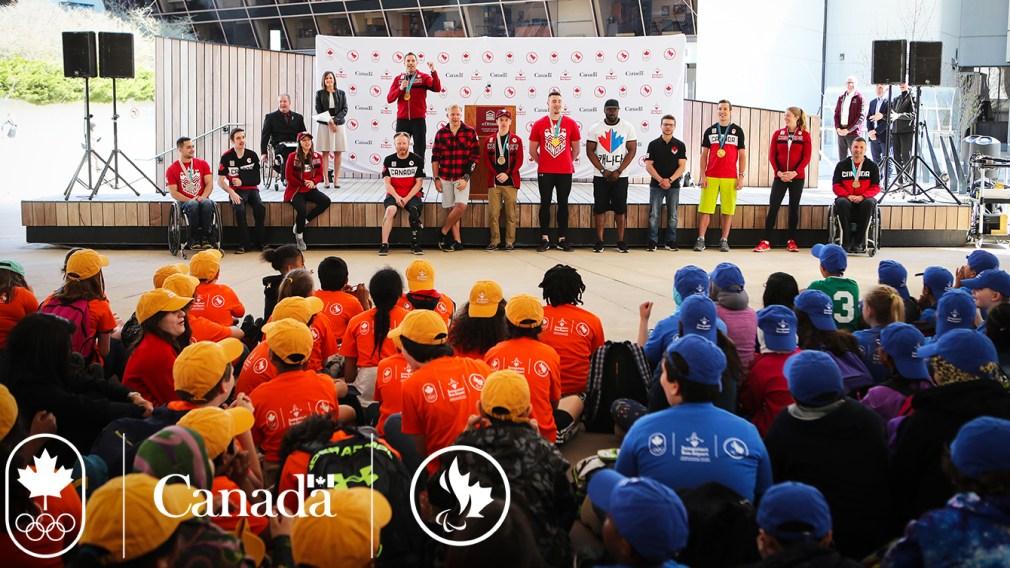 Sport community celebrates Team Canada Jumpstart Games
