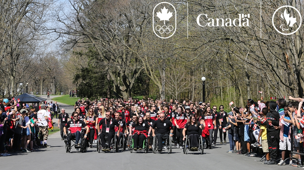Canada celebrates its Olympic and Paralympic  Heroes on Parliament Hill