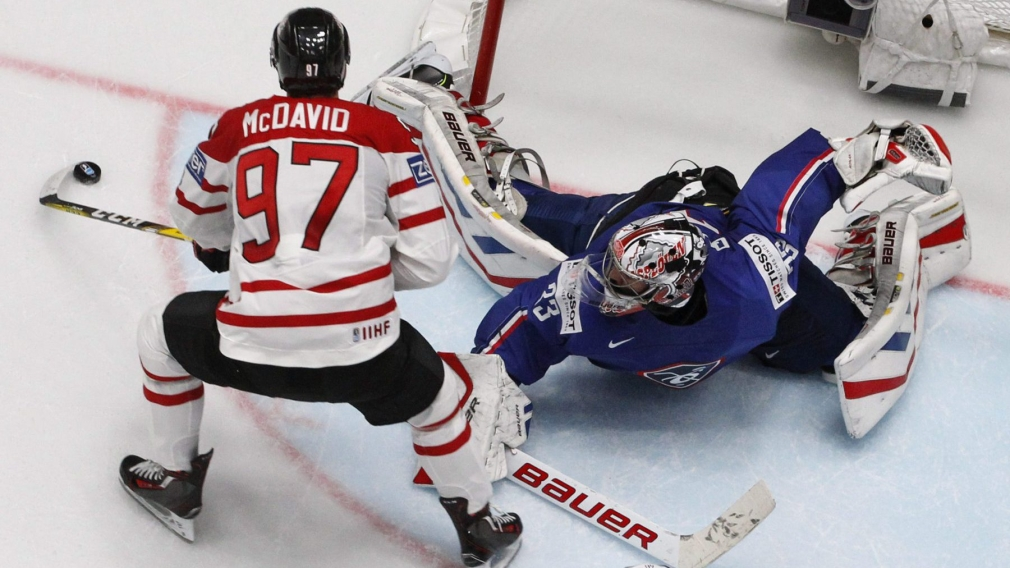 Team Canada looking for fourth straight medal at men's hockey worlds