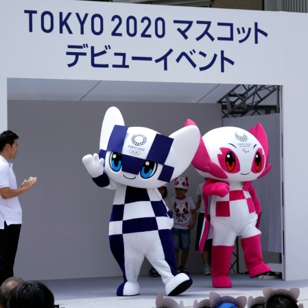 Picture of the Tokyo 2020 mascots