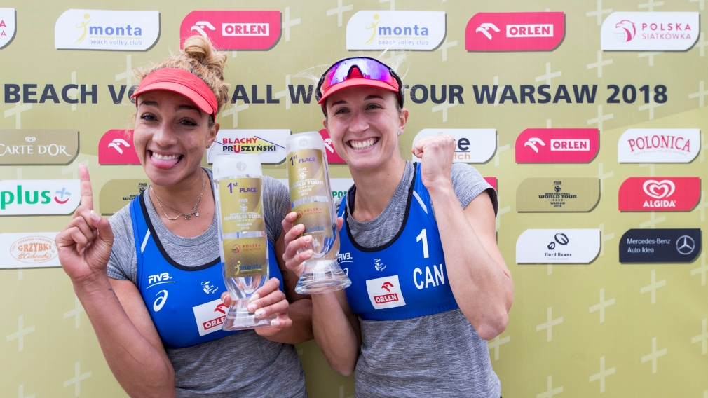 Beach Volleyball: Gold for Bansley and Wilkerson in Warsaw