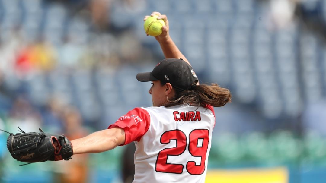 Jenna Caira celebrates
