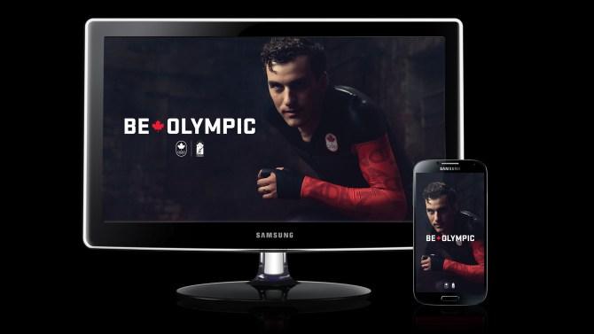 Denny Morrison – Be Olympic Wallpaper