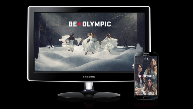 Dufour Lapointe Sisters – Be Olympic Wallpaper