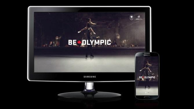 Meagan Duhamel & Eric Radford – Be Olympic Wallpaper