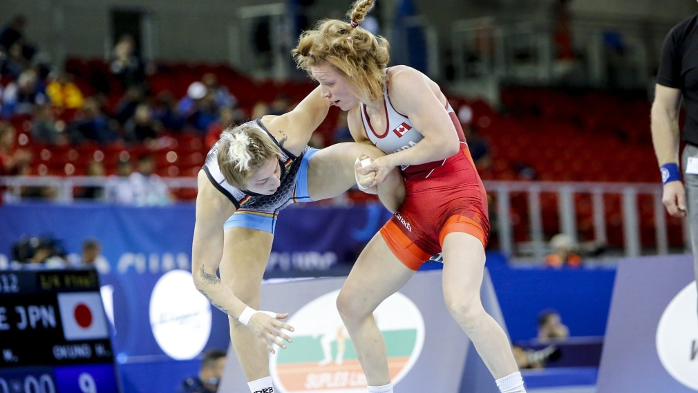 Team Canada wins its most medals ever at the World Wrestling Championships