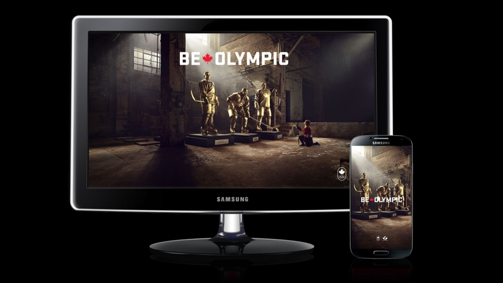 Women's Hockey – Be Olympic Wallpaper