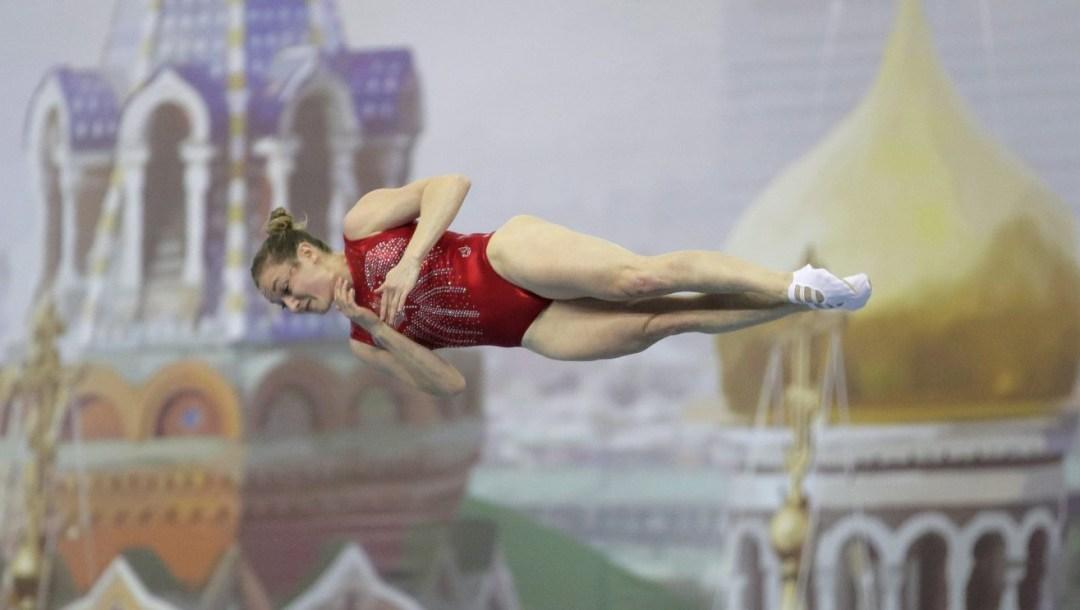 Team Canada Rosie MacLennan