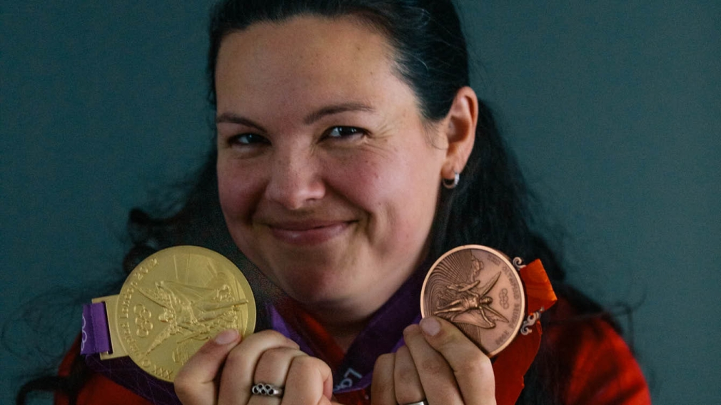 Christine Girard awarded London 2012 and Beijing 2008 medals
