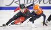 Sarault and Charles reach the podium in short track World Cup debuts