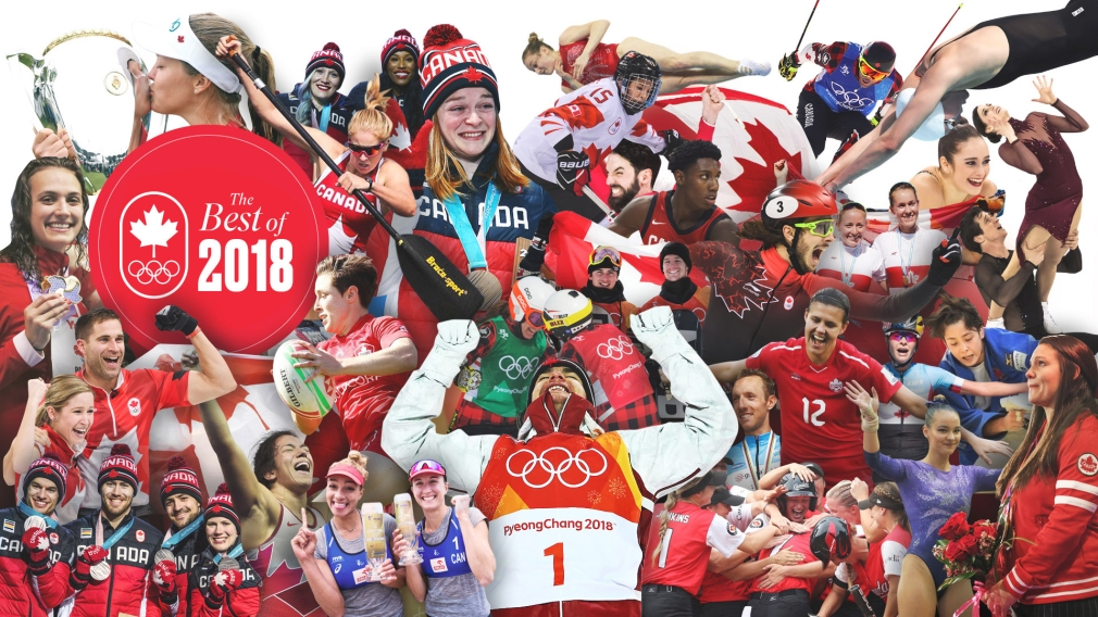 18 (and then some) great Team Canada stories of 2018