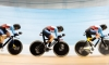 Team Canada wins two team pursuit silver medals at track cycling World Cup
