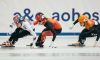 A trio of short track silvers for Canada in Dresden