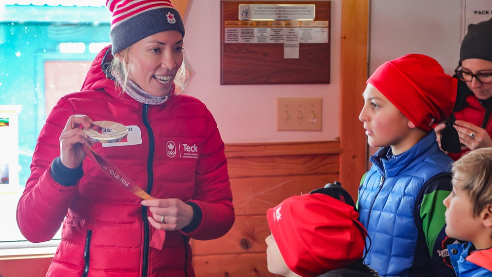Teck Coaching Series continues with cross-country clinic led by Beckie Scott