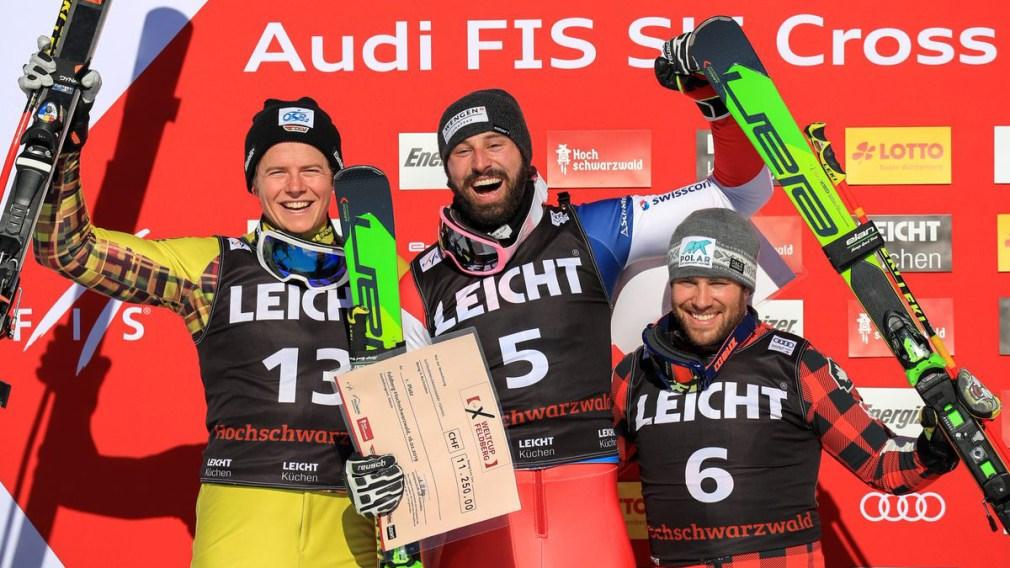 Kevin Drury races to ski cross bronze in Feldberg