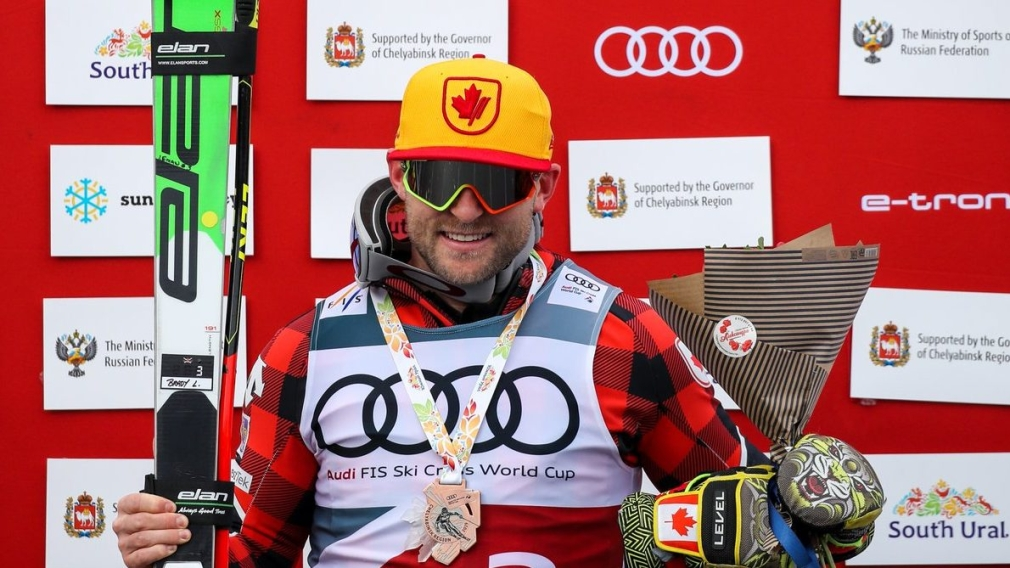 Brady Leman races to bronze at ski cross worlds in Russia